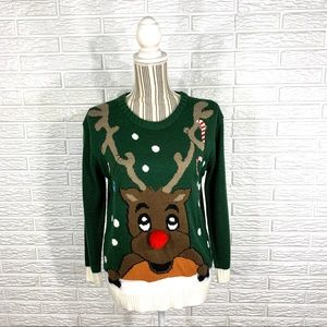 Christmas Sweater Rudolph the Red Nosed Reindeer